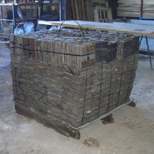Reclaimed Pitch Pine Parquet Flooring