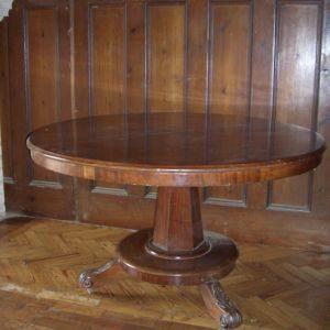Late Victorian Mahogany Breakfast Table