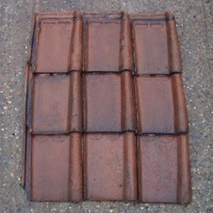 Courtrai Interlocking Clay Tiles